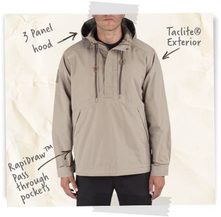 Tactical Anorak Jacket