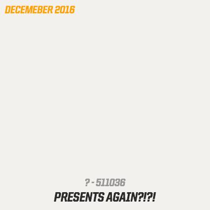 December 2016 patch