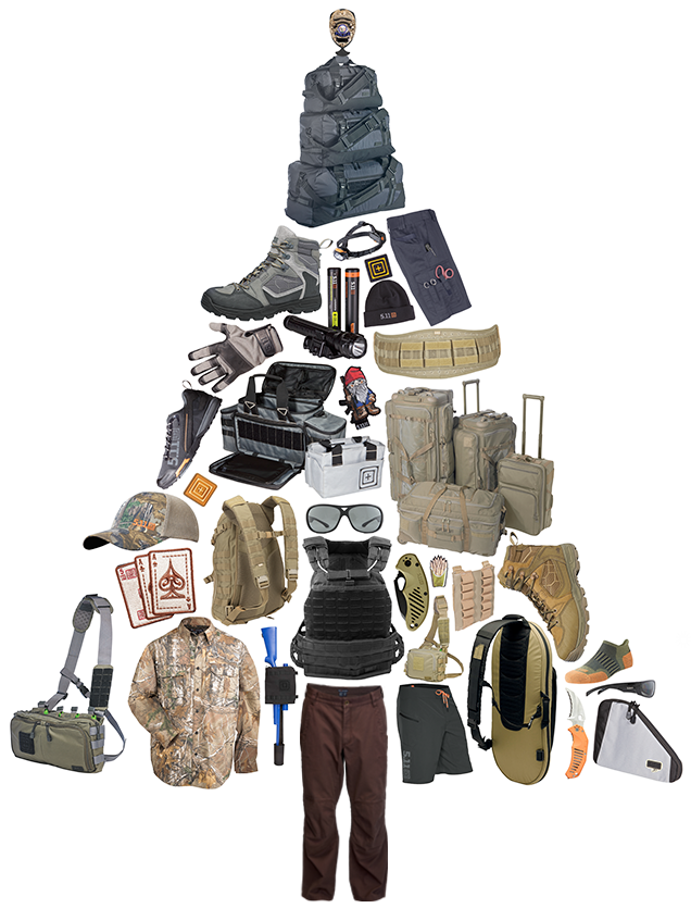 Click on our gear tree and get 5.11 Tactical Gear for up to 25% off