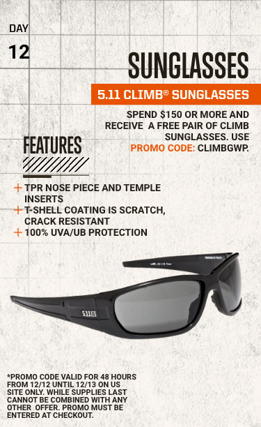 Eyewear Protection - 5.11® CLIMB™ SUNGLASSES