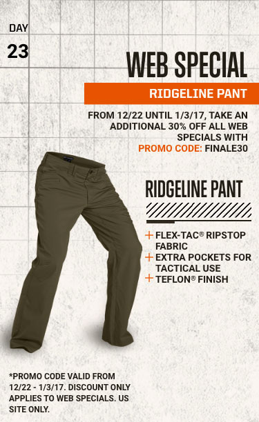 FEATURED WEB SPECIAL - RIDGELINE PANT