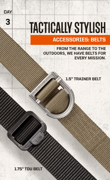 Tactically Stylish - Accessories: Belts