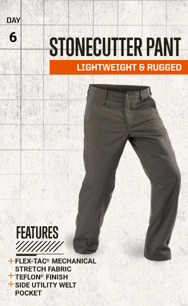Style and Rugged - Stonecutter Pant
