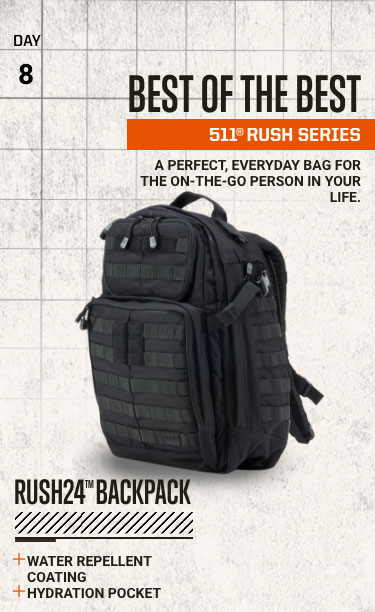 Best of the Best - 5.11® Rush Series
