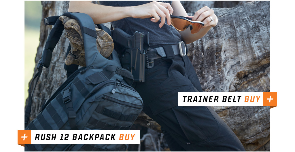 Trainer Belt & Rush 12 BackPack