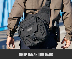Shop Hazard Go Bags