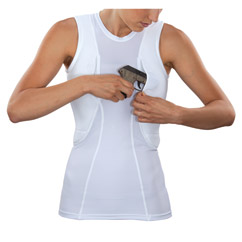 Sleeveless Holster Shirt for Women
