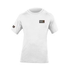 T-Shirt with Logo on Left chest and Right Sleeve
