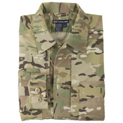 MultiCam TDU Shirt - Long Sleeve, Ripstop