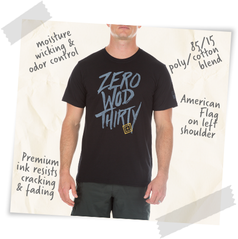 Zero WOD Thirty Tee