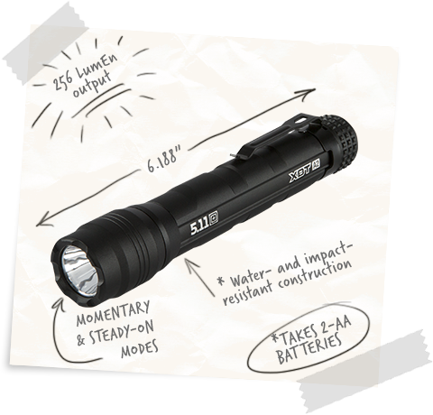 XBT A2 Flashlight