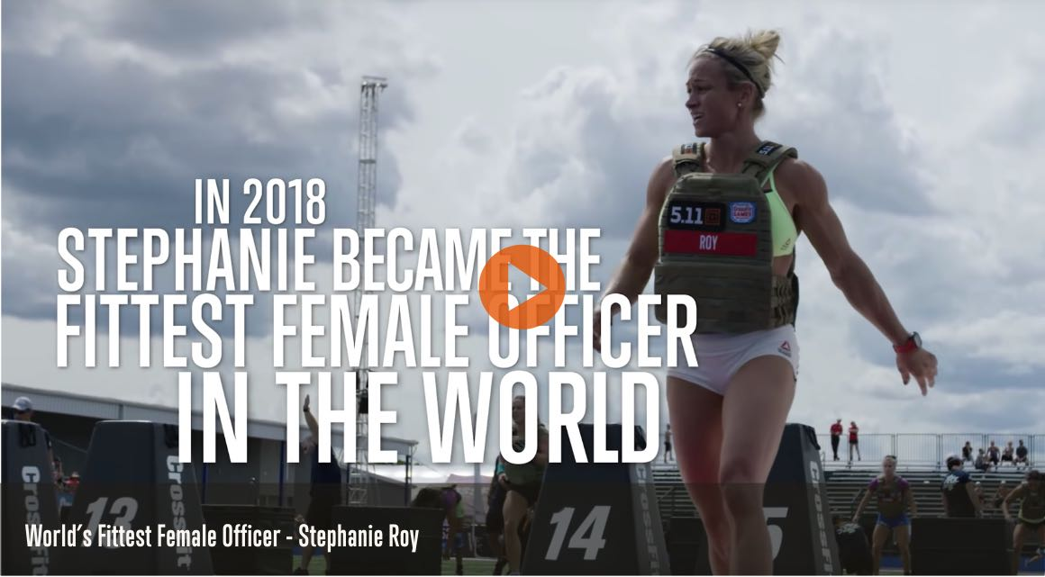 Fittest Female Police Officer - Stephanie Roy