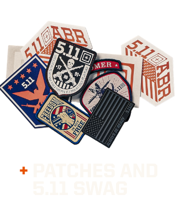 Assorted Patches and Swag