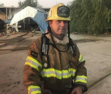 How one off-duty firefighter became a first responder during Las Vegas shooting