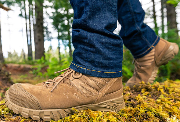 how to break in military boots fast