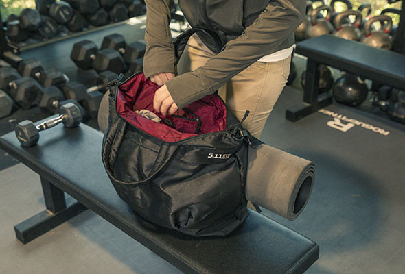 a514850c4cb2 Gym Bag Essentials for an Indoor Workout - 5.11 Tactical