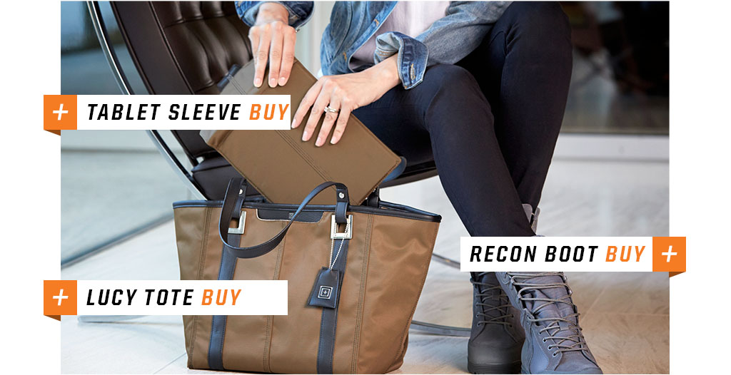 Lucy Tote & Recon Boot
